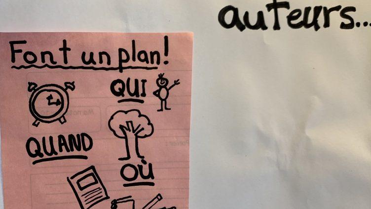 Les auteurs font un plan!